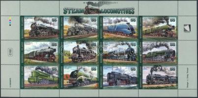Mozdony kisív Locomotive minisheet