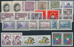 1972 Teljes évfolyam bélyegei párokban