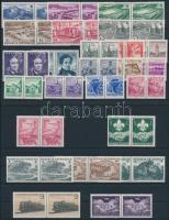 1962 Teljes évfolyam bélyegei párokban