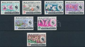Negeri Sembilan Definitive, Orchids set Negeri Sembilan Forgalmi; orchidea sor