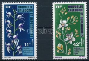 Orchids 2 stamps, Orchidea sor 2 értéke