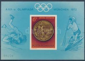 Olympics imperf block, Vágott Olimpia blokk