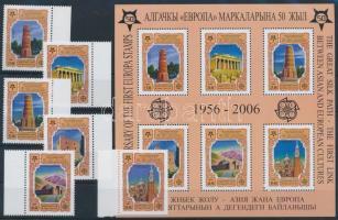 50 éves az Európa bélyeg + blokk Europe stamp + block