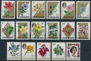 Virágok sor (Mi 169 hiányzik) Flowers set (Mi 169 missing)