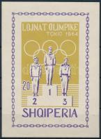 1964 Olimpia blokk Mi 26 B