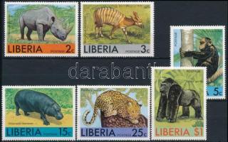 African animals set, Afrikai állatok sor