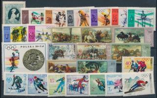 1957-1968 26 klf bélyeg, közte sorok