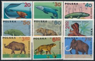 Pre-historic animals set, Őslények sor