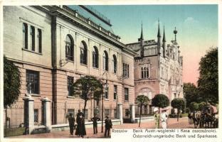 Rzeszów, Bank Austr.-wegierski i Kasa oszczednosci / Österreich-ungarische Bank und Sparkassa / Austro-Hungarian savings bank