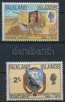 Army 2 stamps Hadsereg sor 2 értéke