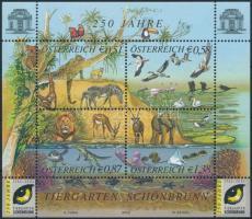 Schönbrunn Zoo block, 250 éves a Schönbrunn-i állatkert blokk