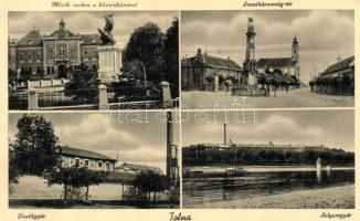 Tolna, Hősök szobra, Selyemgyár, Textilgyár