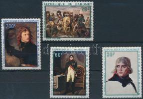 Napóleon, festmény sor Napoleon, painting set