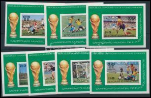 Football World Cup block set, Labdarúgó VB blokksor