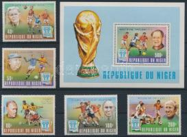 Football World Cup set + block, Labdarúgó VB. sor + blokk