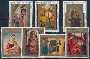 1970-1972 2 klf Festmény sor 1970-1972 2 Paintings set
