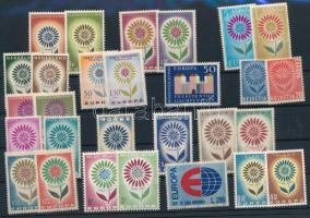 Europa CEPT 16 countries 28 stamps, Europa CEPT 16 klf ország 28 klf bélyeg