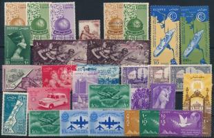 1954-1957 28 klf bélyeg + 1 pár