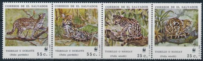 WWF: Vadmacska 4-es csík WWF Wild Cats stripe of 4