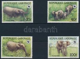 WWF: Erdei elefánt sor WWF: Elephant set