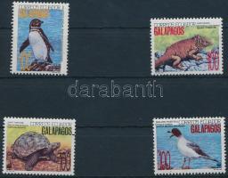 1992 WWF: Galapagos sor 4 értéke Mi 2207-2209 + 2212 4 FDC + 4 CM
