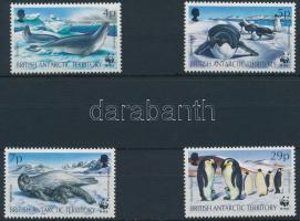 WWF: Fókák és pingvinek 4 érték WWF: Seals and penguins 4 stamps