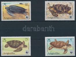 1983 WWF: Teknősök sor Mi 541 A-544 A