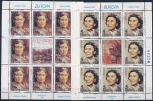 Europa CEPT, famous women minisheet set, Europa CEPT, híres nők kisív sor