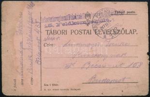 "Tábori posta levelezőlap ""K.u.k. Infanterieregiment Friedrich..."" + ""TP 433 a"" Austria-Hungary Field Postcard ""K.u.k. Infanterieregiment Friedrich..."" + ""TP 433 a"""