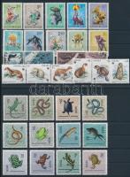 1963-1984 Animals 4 sets, 1963-1984 Állat motívum 4 klf sor