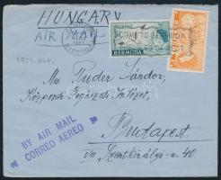 Légi levél Budapestre Airmail cover to Hungary