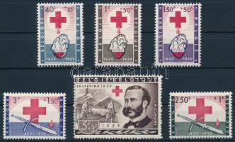 Centenary of Rec Cross set, 100 éves a Vöröskereszt sor