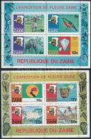 1979 Folyó-expedíció sor Mi 589-596 + blokk Mi 23, 24