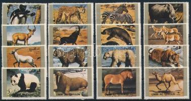Ritka állatok kisív bélyegei Rare animals stamps