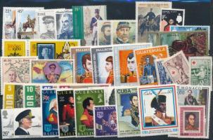 1969-1998 Uniforms 26 stamps + 11 sets, Egyenruha motívum 1969-1998 26 klf önálló érték + 11 klf sor 2 db stecklapon