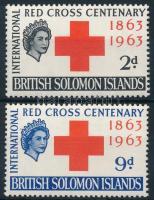 100 éves a Nemzeti Vöröskereszt sor National Red Cross set