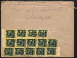 Inflation cover, (5. díjszabás) Távolsági levél Kisegítő 14x9P/1f bérmentesítéssel
