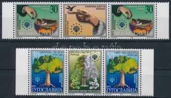 Nature protection set in coupon pairs, Természetvédelem sor szelvényes párokban