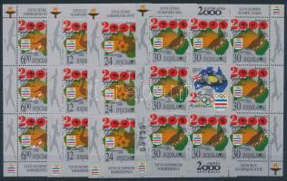2000 Olimpia kisívsor Mi 2980-2983