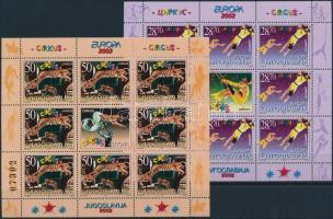 2002 Europa CEPT: Cirkusz kisívsor Mi 3076-3077