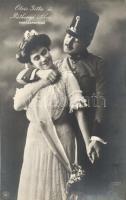 Ötvös Gitta, Ráthonyi Ákos, Hungarian actress and actor, Ötvös Gitta és Ráthonyi Ákos; Varázskeringő