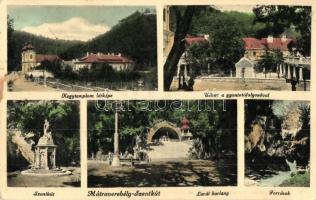 Mátraverebély-Szentkút, Szentkút, Lurdi barlang, források, Kegytemplom