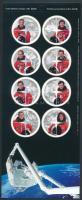 Űrkutatás: Kanadai Űrhajósok fólia ív Space research: Canadian Astronauts foil sheet