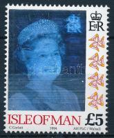 Queen Elizabeth II hologram stamp, II. Erzsébet királynő hologramos bélyeg