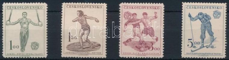 1951 Sport sor Mi 671-674