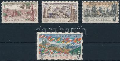 nternational Stamp Exhibition, Prague set, Nemzetközi bélyegkiállítás, Prága sor