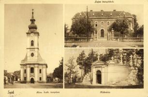 Szob, Római katolikus templom, Kálvária, Lujza leányiskola