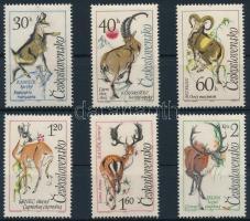 1963 Vadászható állatok sor Mi 1441-1446