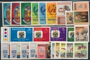 1972-1975 5 klf sor + 4 klf önálló érték