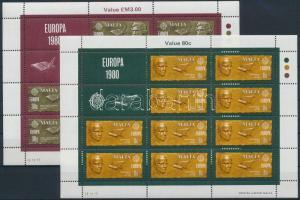 1980 Europa CEPT kisívsor Mi 615-616